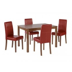 Brompton Real American Walnut Veneer Table Medium Size