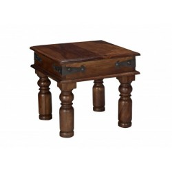 Darjeeling Lamp Table, Elegant Range, Suites A Traditional Style, Solid Sheesham Wood