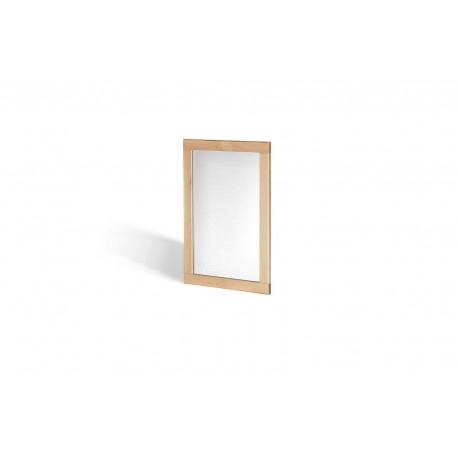 Ocean Mirror, Wall Hanging, Elegant Style, Solid Oak Wood