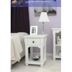 Hampton One Drawer Lamp Table