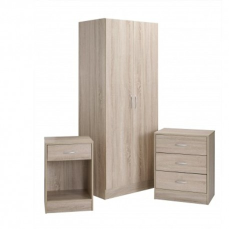 Value Bedroom Trio Set Delta Range