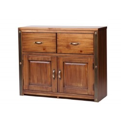 Forge Medium 2 Door, 2 Drawer Sideboard