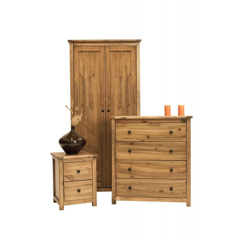Denver 3 Piece Bedroom Furniture Set