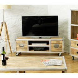 Roadie Chic Widescreen Television Cabinet (two doors)
