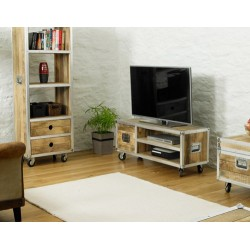 Roadie Chic Widescreen Television Cabinet (one door)