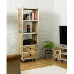 Roadie Chic Tall Bookcase (with drawers)