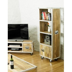 Roadie Chic Tall Bookcase (with door)