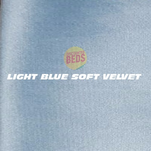 Light Blue Soft Velvet