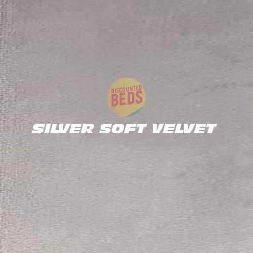 Silver Soft Velvet